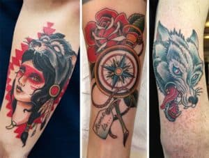 Classic Graphic Tattoos