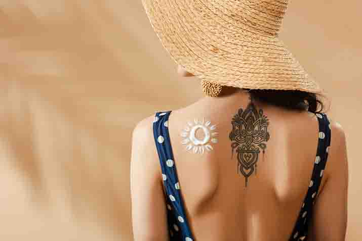 How soon can you use sunscreen on a tattoo?